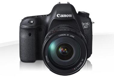 Nieuwe camera Canon EOS 6D