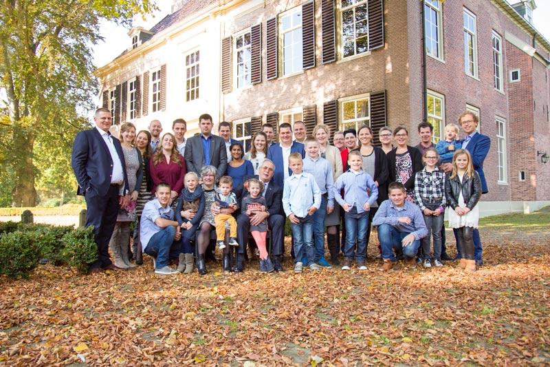 Groepsfotografie familiefoto